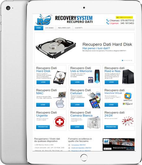 Recovery System Recupero Dati